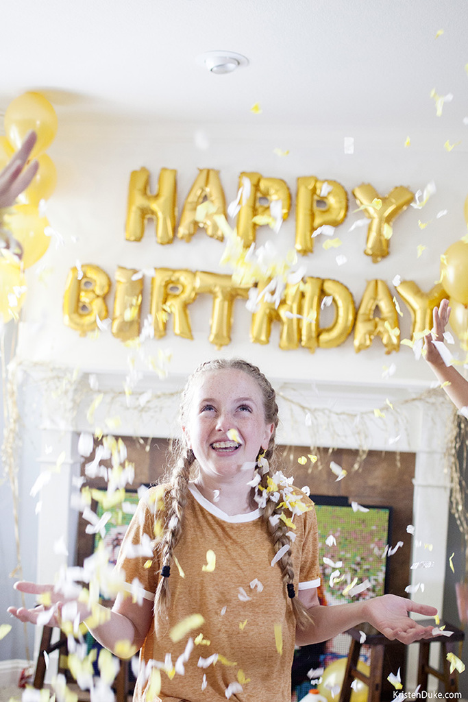 Golden Birthday Party ideas