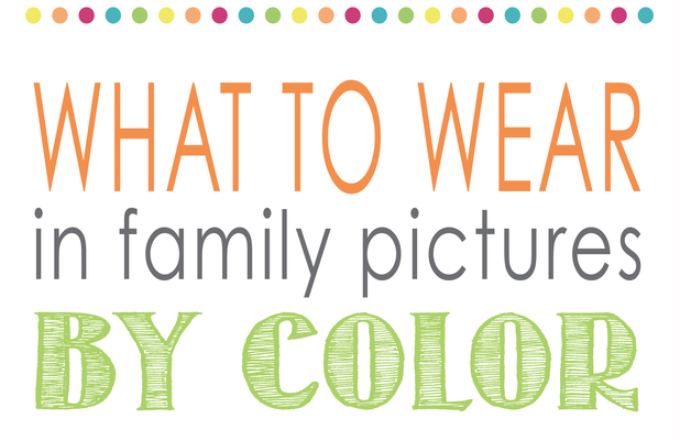 what to wear in family pictures by color capturing joy with kristen duke