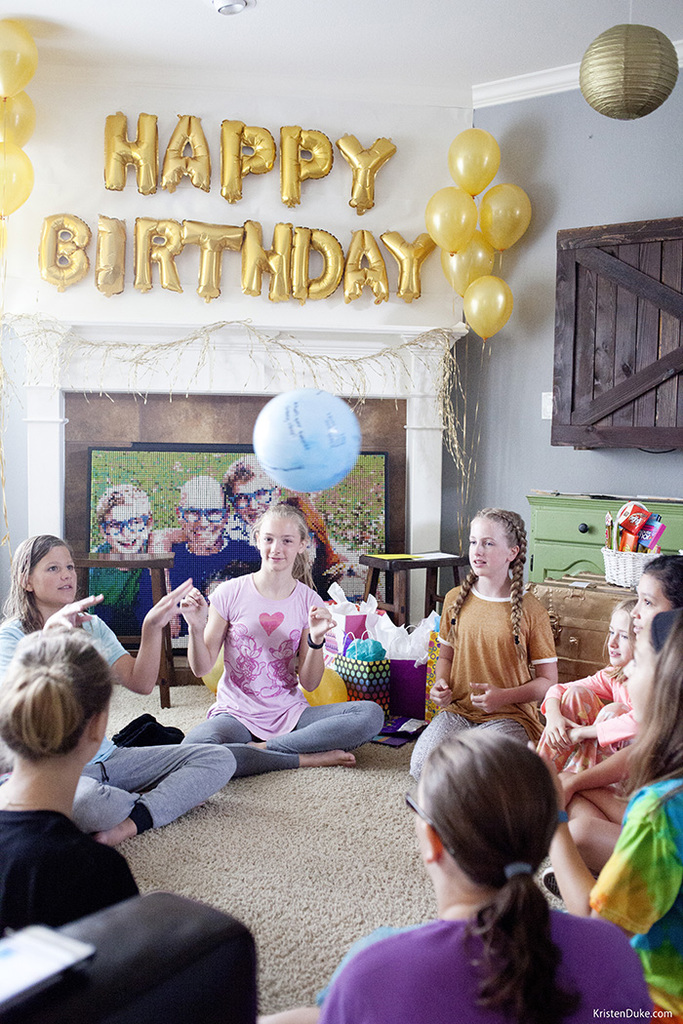 golden birthday party games