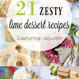 21 Zesty Lime Dessert Recipes