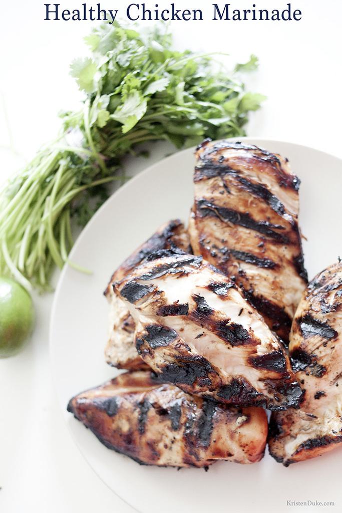 Healthy Chicken Marinade