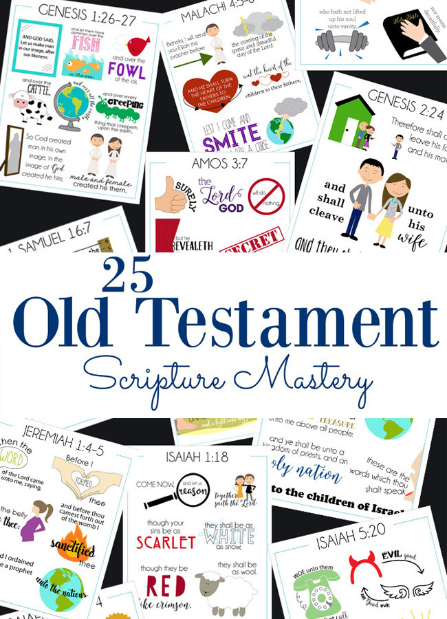 old testament scripture mastery