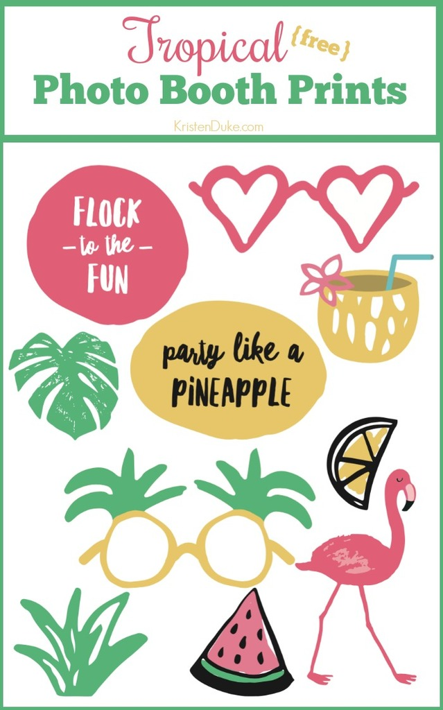 Tropical Photo Booth