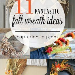11 Fantastic Fall Wreath Ideas