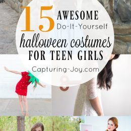 15 Awesome DIY Halloween Costume Ideas for Teen Girls