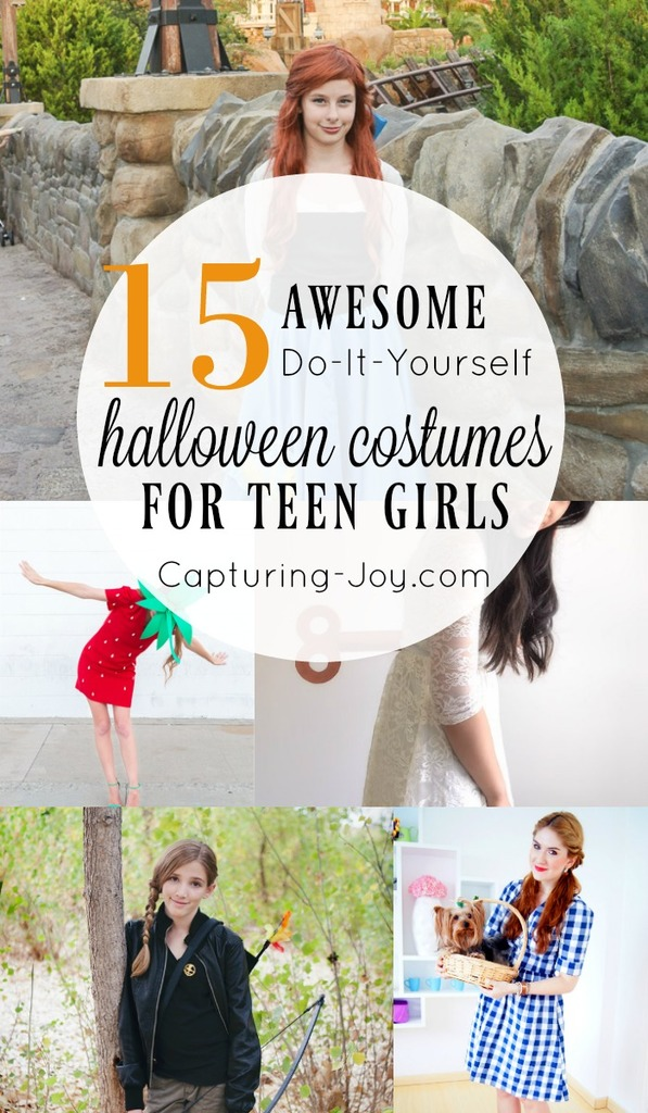 15 halloween costumes for teen girls  sc 1 st  Capturing Joy with Kristen Duke : halloween costume ideas diy  - Germanpascual.Com