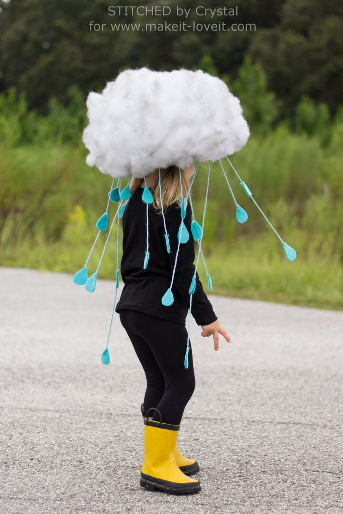 rain cloud costume for teen girls