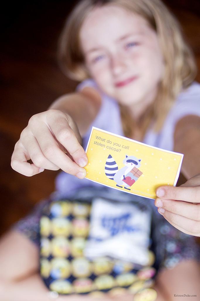 chocolate jokes --kids lunchbox jokes