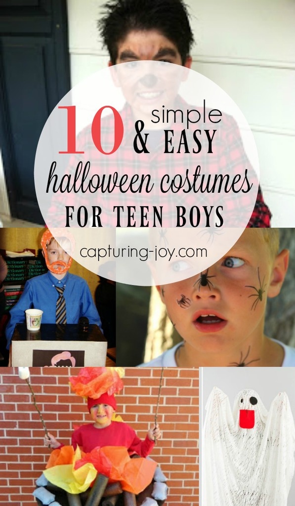 Halloween Costumes for Teen Boys