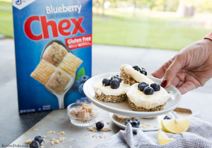 Blueberry Chex Cereal dessert