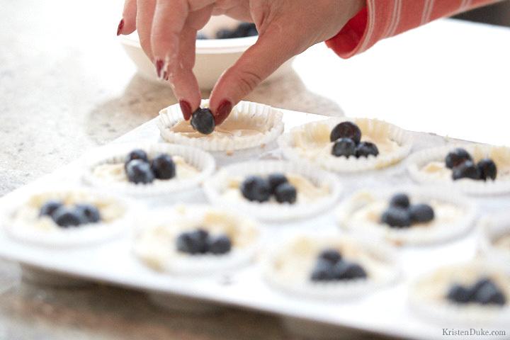 No Bake Lemon Cheesecake Betty Crocker Test Kitchen blueberry