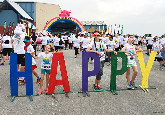 happy color run