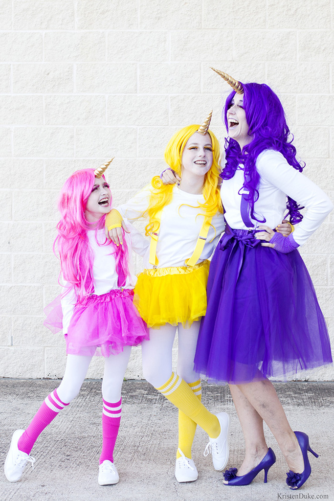 Unicorn costume idea