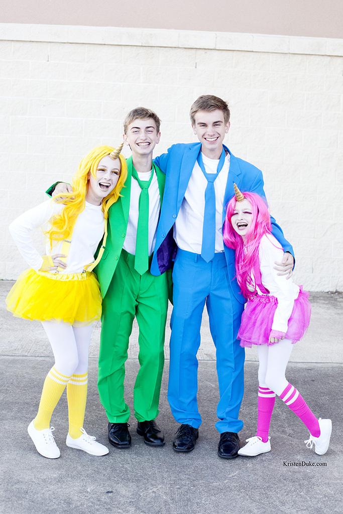 colorful costume idea