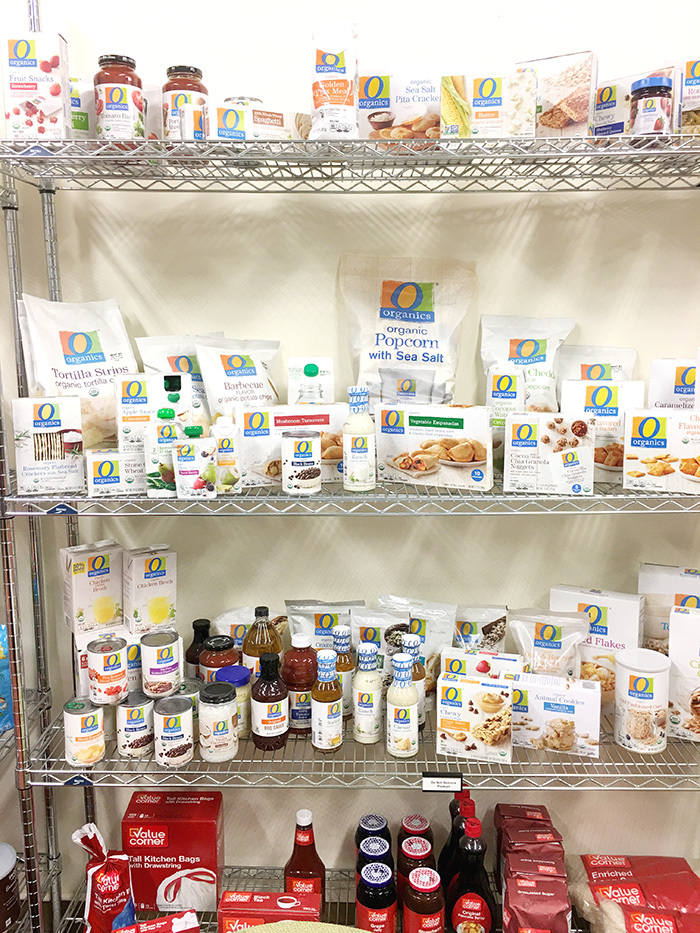 O Organics product line