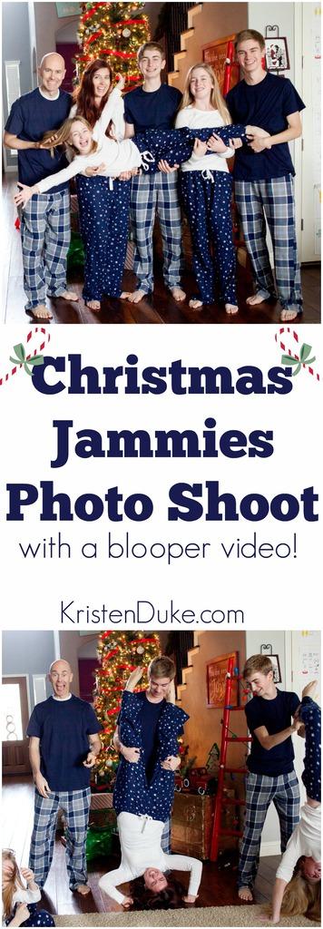 Christmas Jammies Photo Shoot