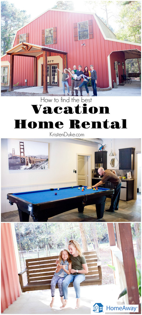 HomeAway Vacation Home Rental