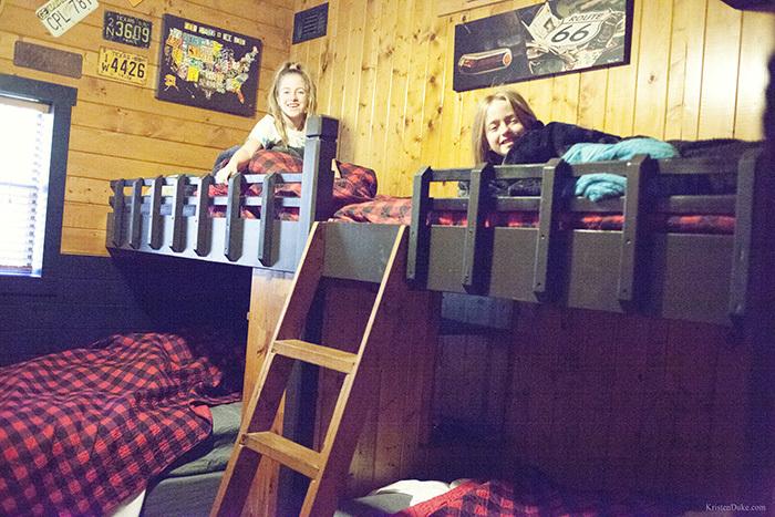 double bunkbends