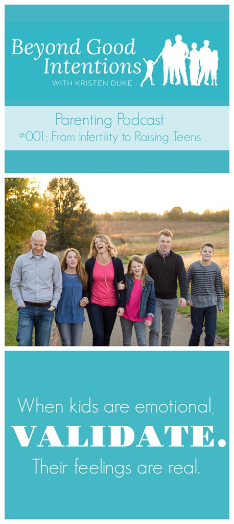 Beyond Good Intentions Parenting Podcast From Infertility to Raising Teens