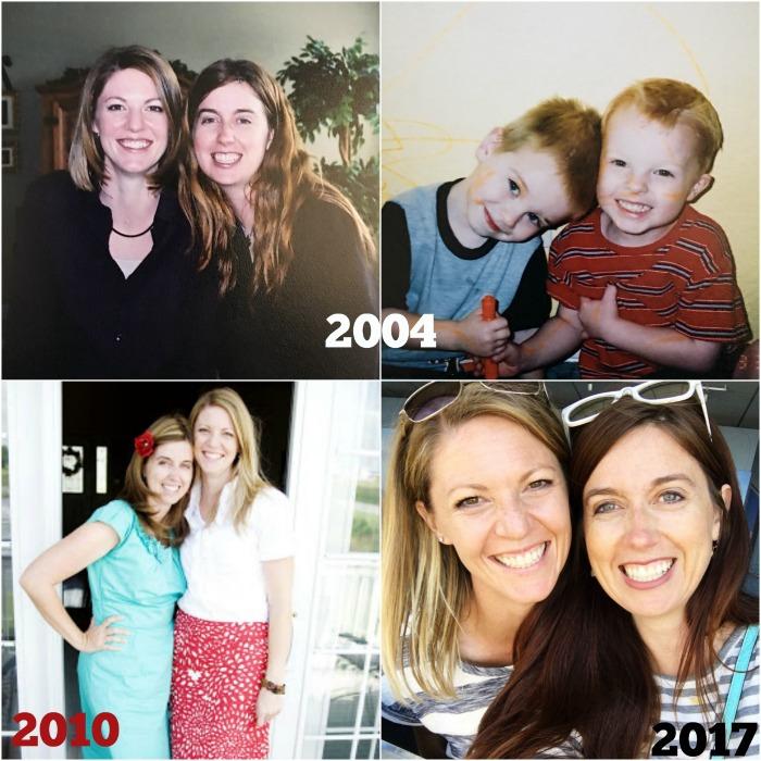 Linda through the years