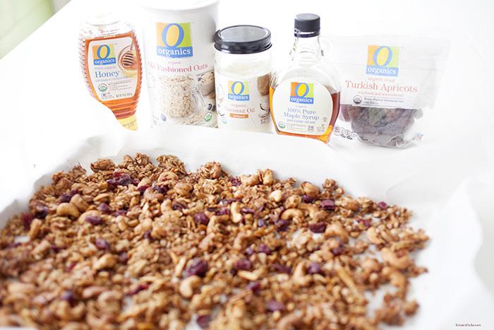coconut oil healthy granola recipe