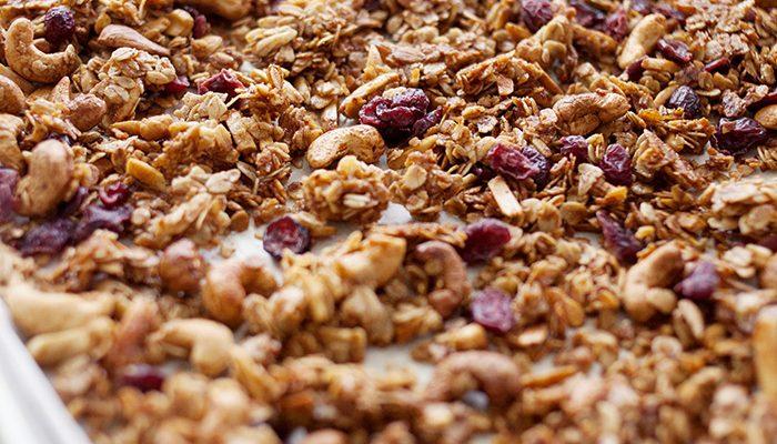cranberry granola recipe