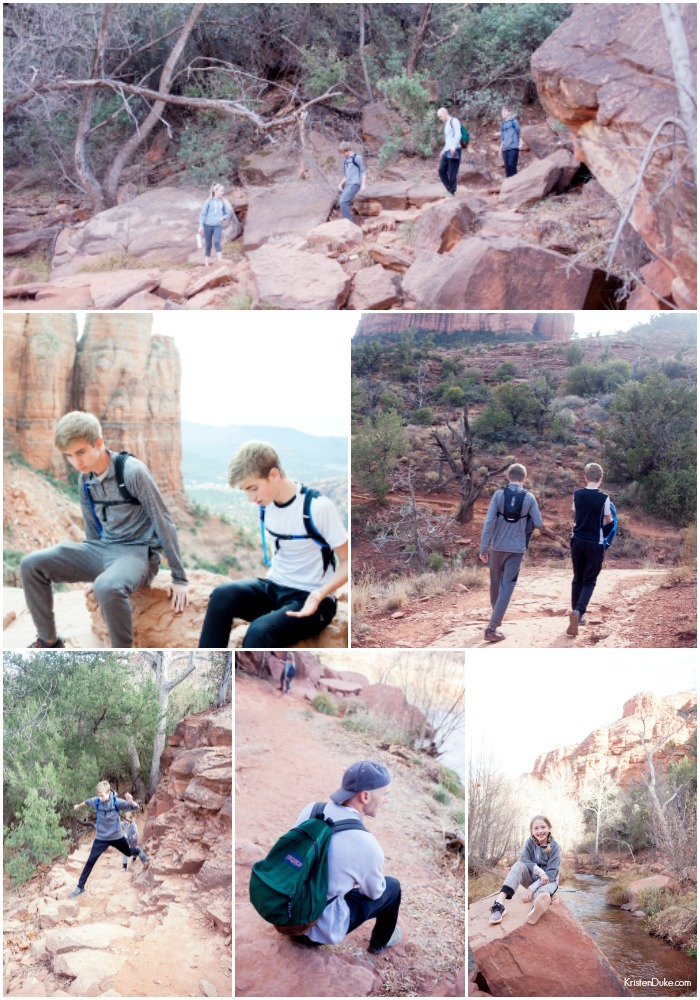 family hiking pictures