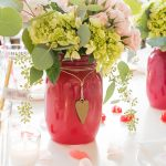 DLD Gold Heart Mason Jar