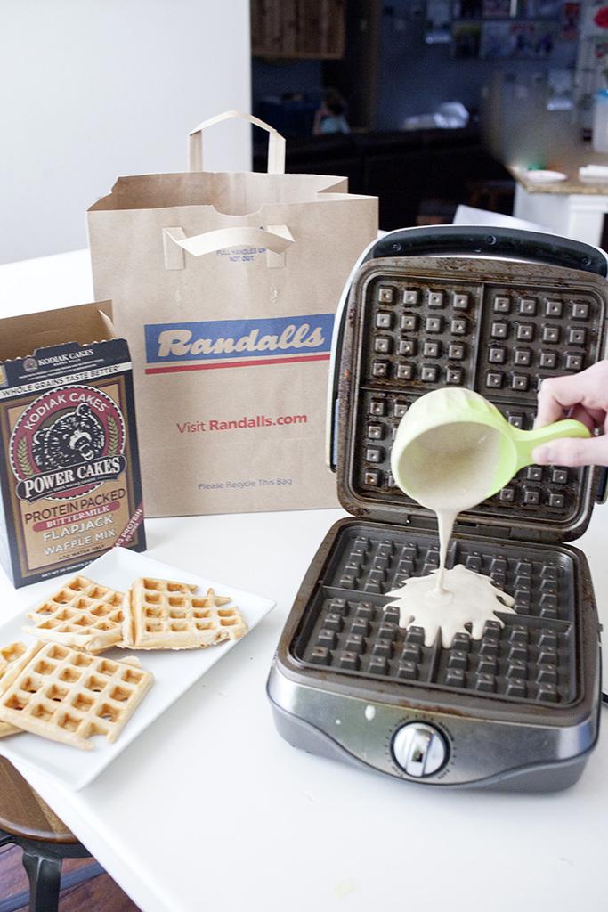 kodiak cakes waffles