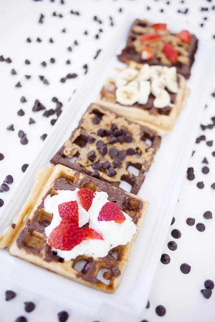 waffle bar topping ideas