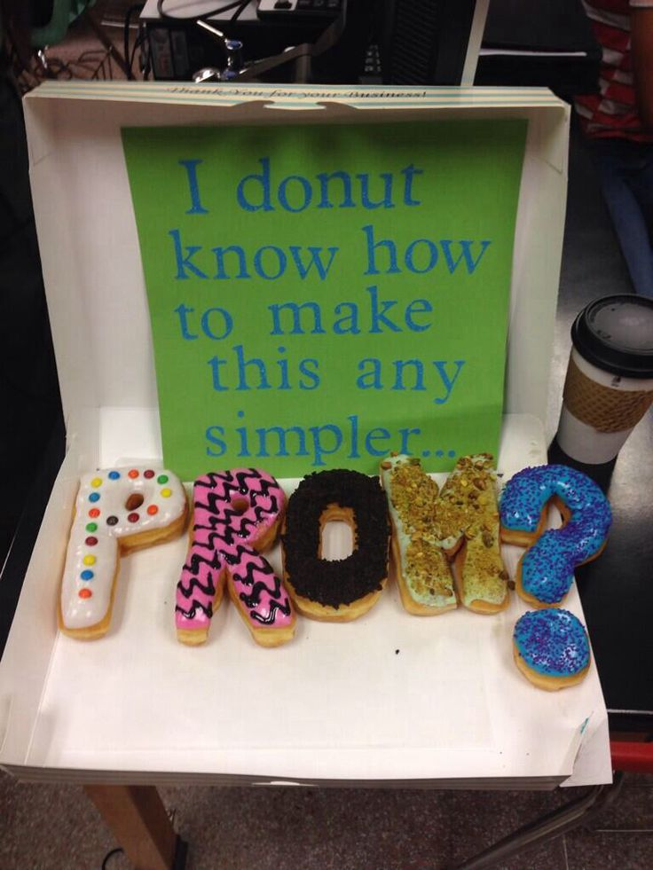 Donut Promposal Idea