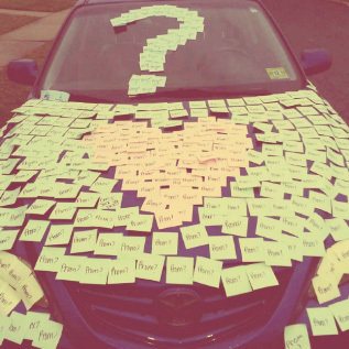 post it note promposal