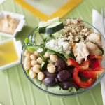greek quinioa salad