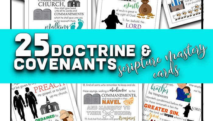 Seminary Doctrine and Covenants Scripture Mastery
