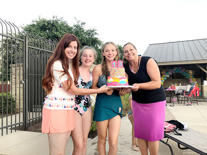 mother daughter birthday surprise