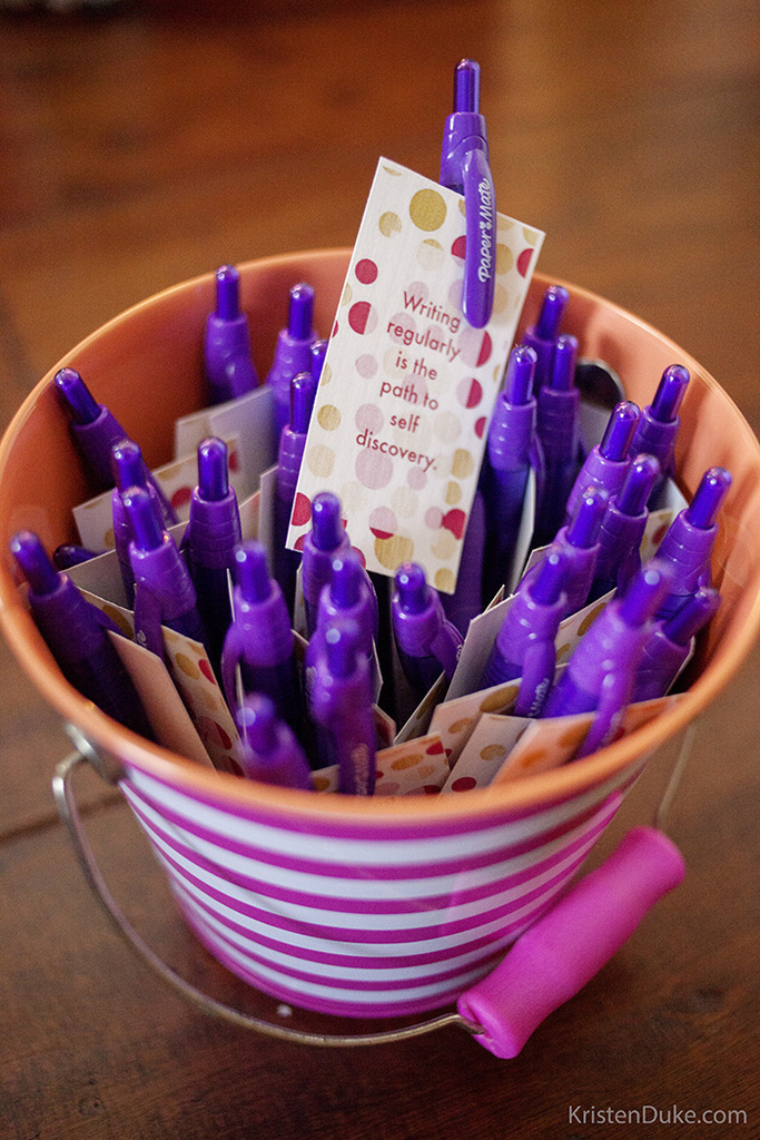 papermate purple pen