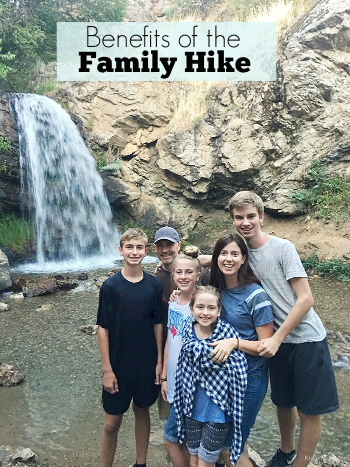 Benefits of a family hike
