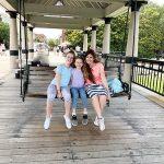 bench swing on pier Charleston