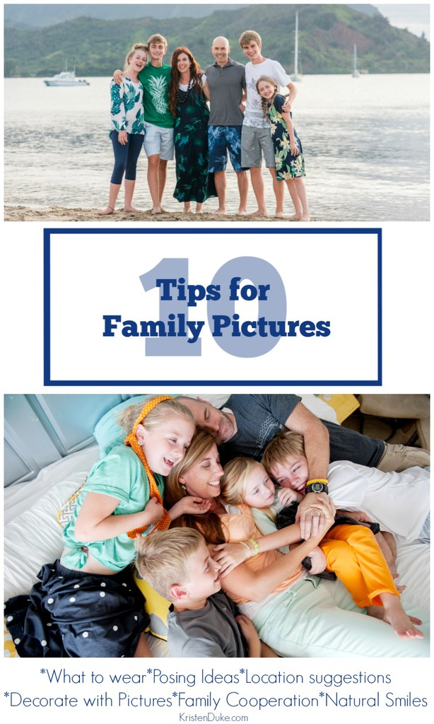 10 Tips for Family Pictures