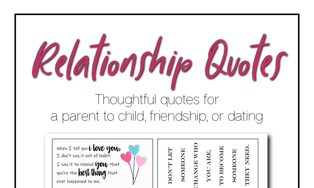 New dating relationship quotes