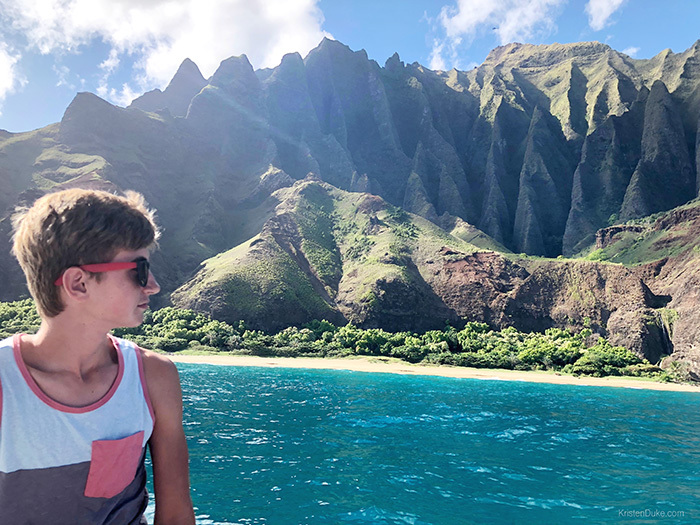 A Day Discovering The Napali Coast Capturing Joy With