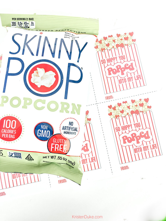 skinny pop valentine
