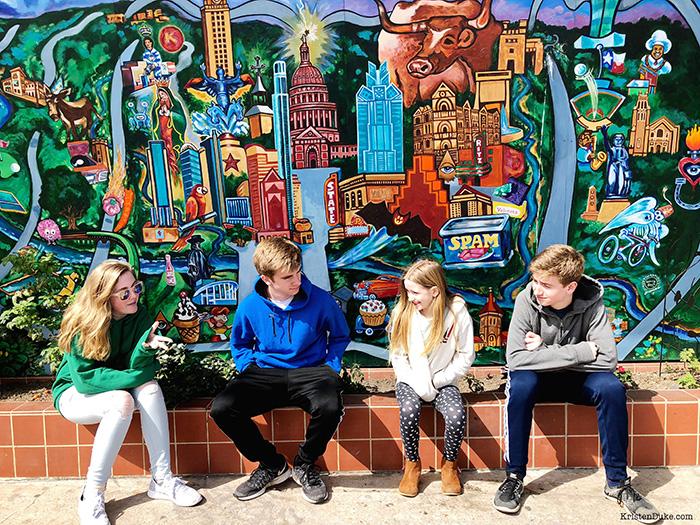 Austin Mural Wall