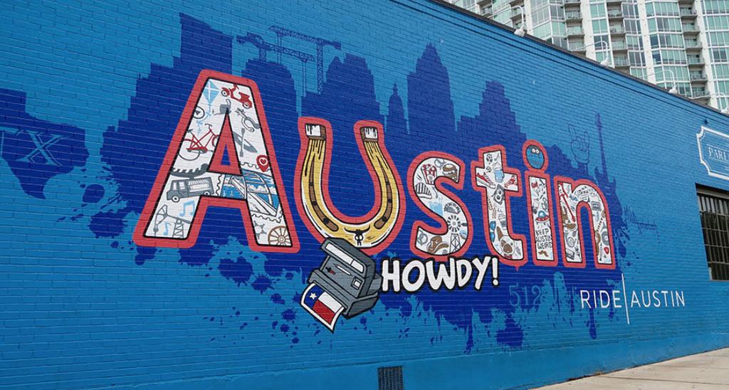 Austin Murals Howdy
