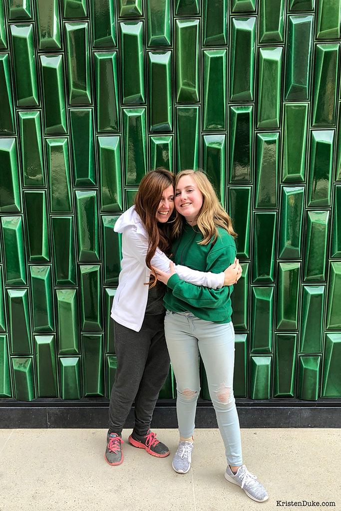 green wall Austin