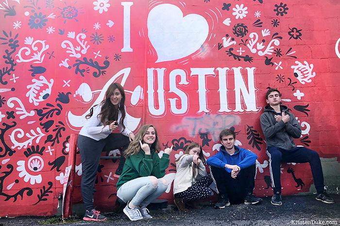 I love Austin Mural