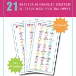 Ideas for scripture study