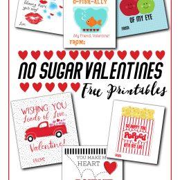 No Sugar Valentine Ideas