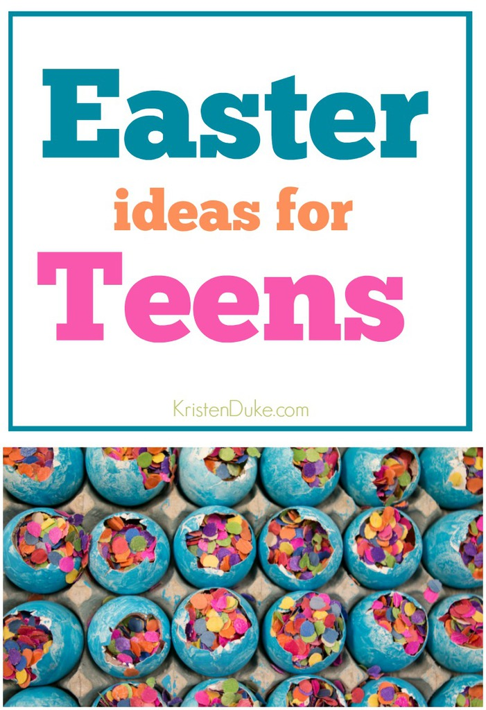 Easter Ideas for Teens // KristenDuke.com