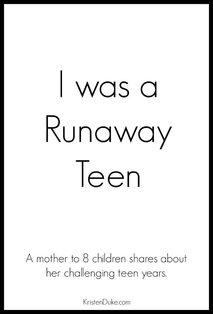 Runaway Teen
